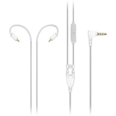 MEE Audio M6 Pro Audio Cable with mic Clear هدفون