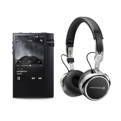 Aventho Wireless  + AK70 MKII هدفون