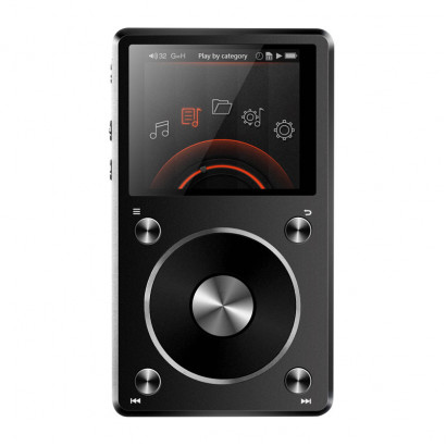 FiiO X5 2nd gen Music Player Black هدفون