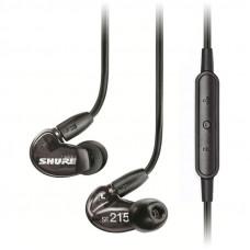 Shure SE215-K UNI remote + mic قیمت خرید و فروش ایرفون شور