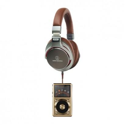 Audio-Technica MSR7 GM + Fiio X3 Gold هدفون