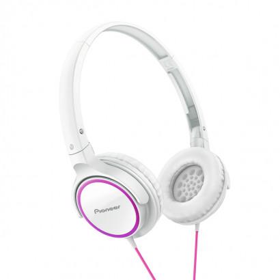 Pioneer SE-MJ512 White-Pink هدفون