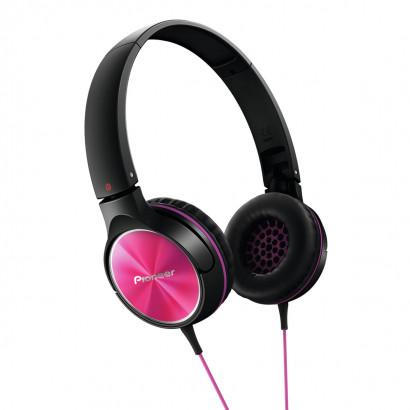 Pioneer SE-MJ522 Pink هدفون