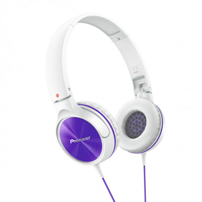 Pioneer SE-MJ522 Purple هدفون