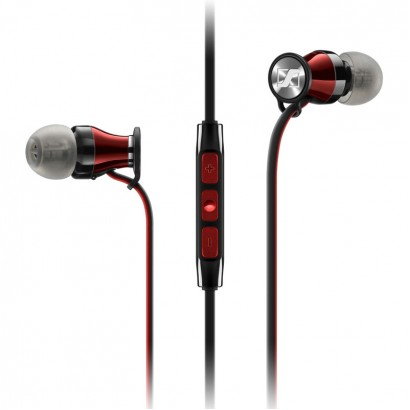 Sennheiser MOMENTUM In Ear i Black Red M2IEi هدفون