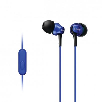 Sony  MDR-EX100AP/L Blue هدفون