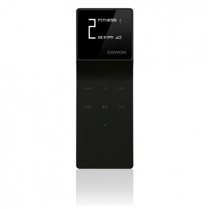 Cowon E3 Black 8GB هدفون