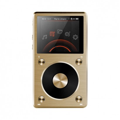 FiiO X5 2nd gen Music Player Gold هدفون