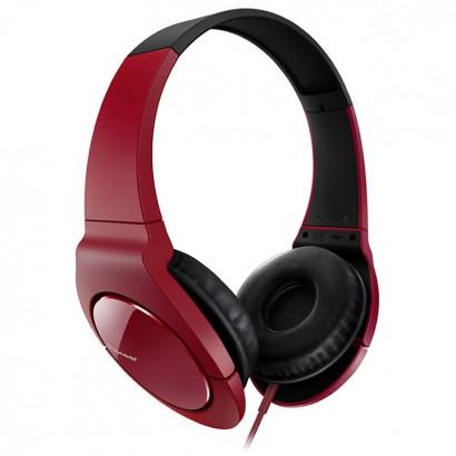 Pioneer SE-MJ721 Red-Black هدفون