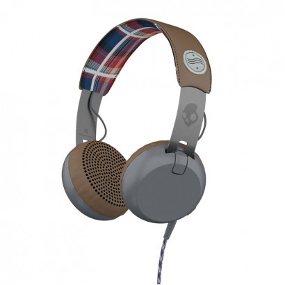 Skullcandy Grind Gray Plaid هدفون