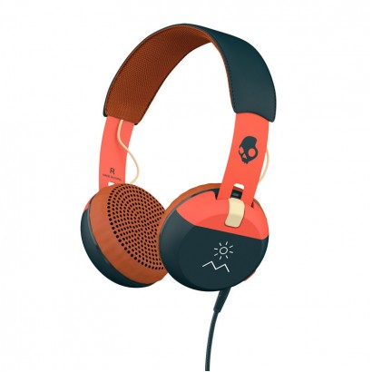 Skullcandy Grind Orange Navy هدفون