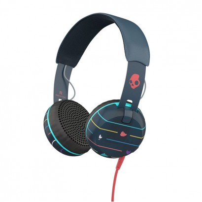 Skullcandy Grind Striped Navy هدفون