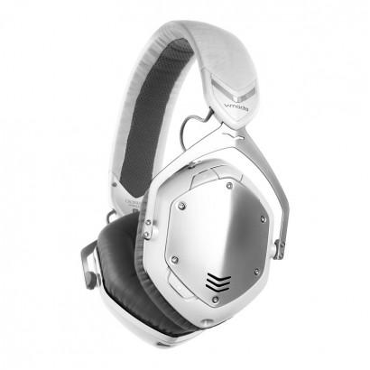 V-MODA Crossfade Wireless White Silver هدفون