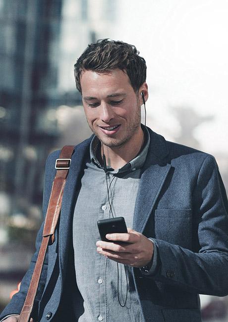ایرفون سیمی با میکرفون پرتابل مناسب موبایل Beyerdynamic Byron Wired
