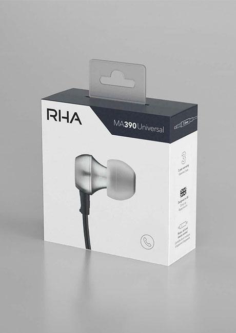 RHA MA390 Universal ایرفون سیمی میکروفون دار