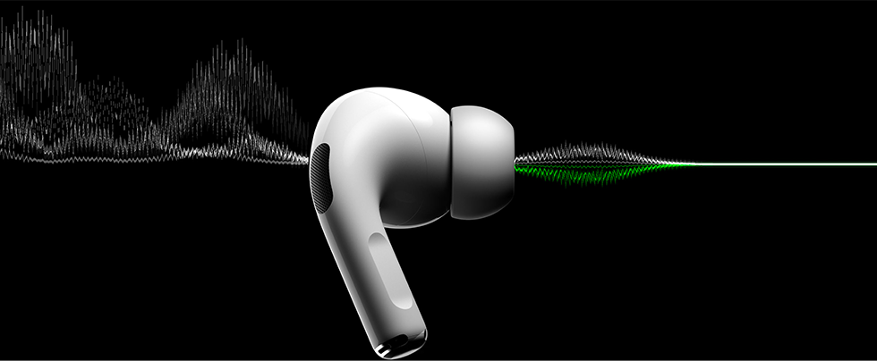 Apple AirPods Pro Noise Cancellation ایرپادز پرو اپل نویز کنسلیشن