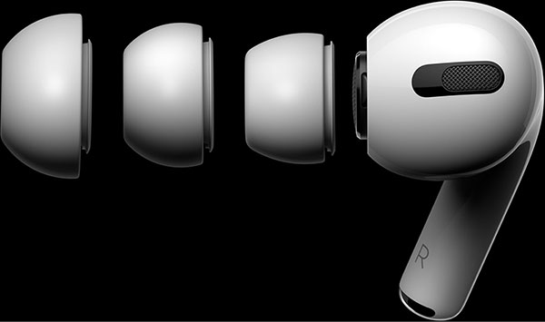Apple AirPods Pro Silicone Tips ایرپادز پرو اپل با نوک سیلیکونی