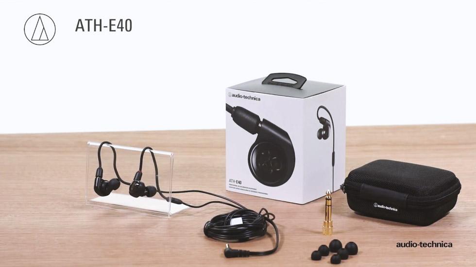 ایرفون حرفه ای استودیو و اجرای زنده با کیفیت آدیو تکنیکا Audio-Technica ATH-E40