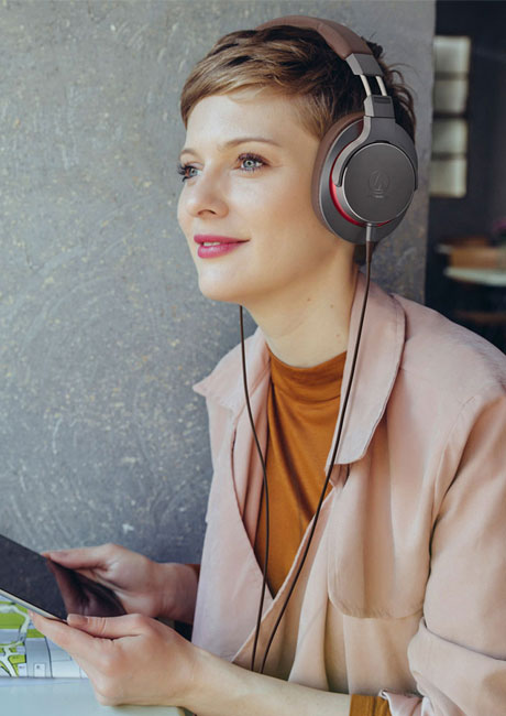 اAudio-Technica ATH-MSR7bهدفون های اند