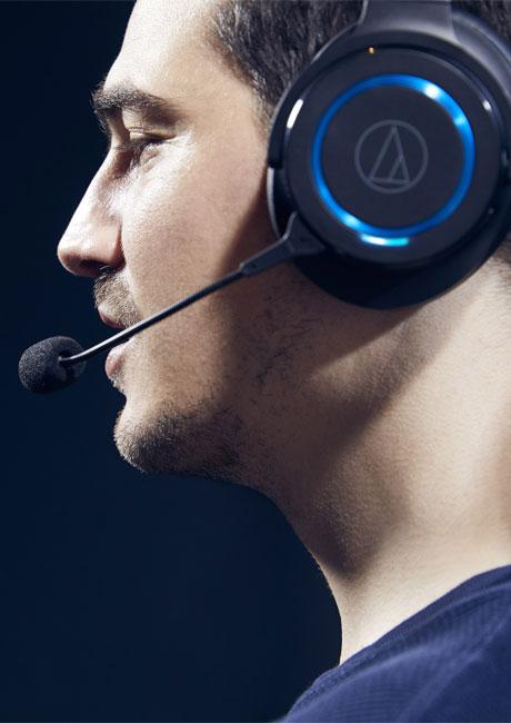 Audio-Technica ATH-G1WL هدفون گیمینگ وایرلس