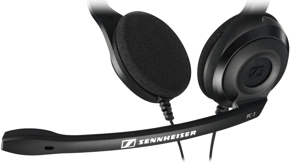 Sennheiser PC 3 CHAT هدست روی گوش میکروفن دار سنهایزر