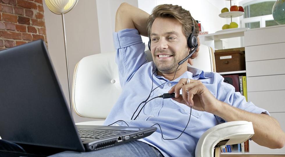 Sennheiser PC 8 USB هدست روی گوش سهنایزر