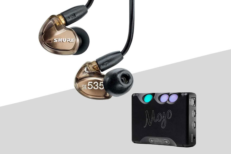 شور SE535 و کورد Mojo