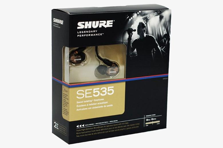جعبهی ایرفون شور SE535