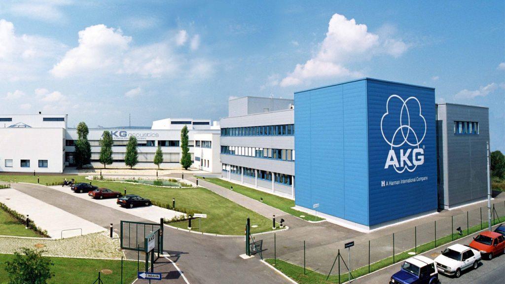 کارخانهی سابق AKG در وین